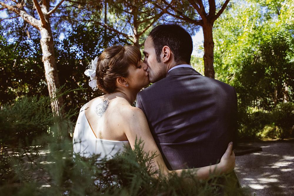 Marina y Daniel. Boda en La Posta Real en Madrid.